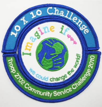 10x10 Challenge Patch